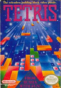 Capa do Jogo Tetris pra Nintendinho